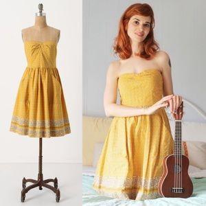 Anthro • Girls From Savoy Bandana Dress
